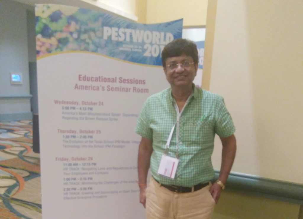 Jaldhi Trivedi at PestWorld